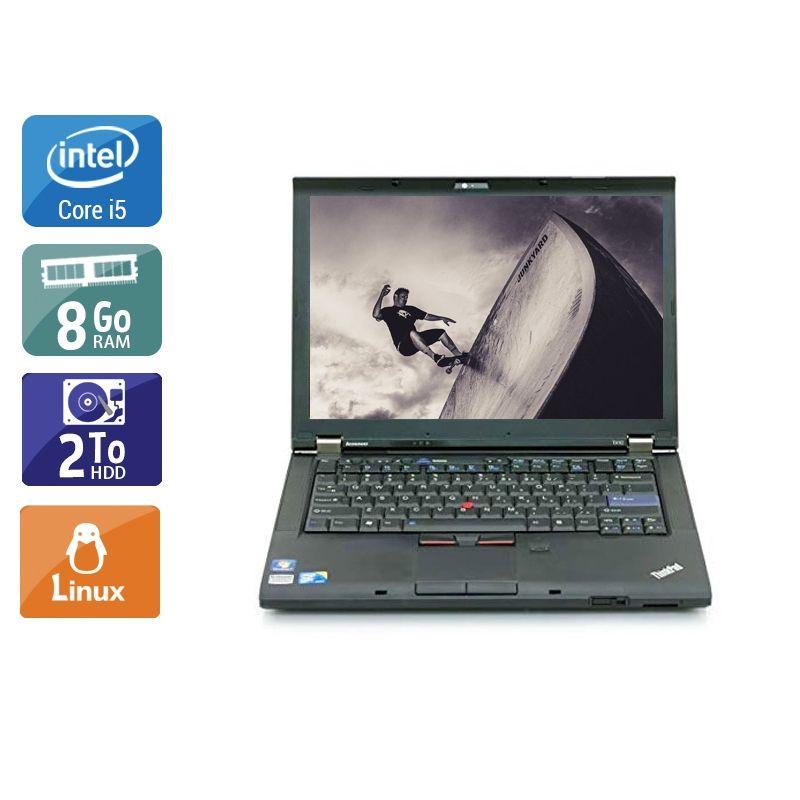 Lenovo ThinkPad T410 i5 8Go RAM 2To HDD Linux