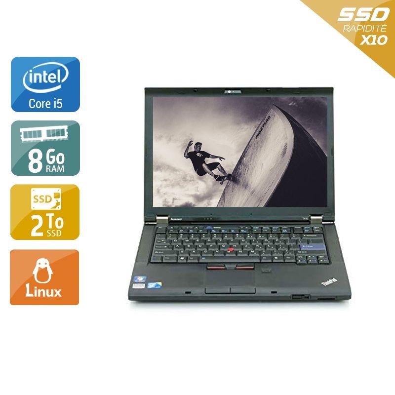 Lenovo ThinkPad T410 i5 8Go RAM 2To SSD Linux