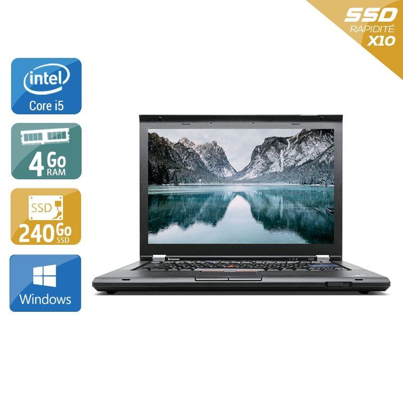 Lenovo ThinkPad T420 i5 4Go RAM 240Go SSD Windows 10