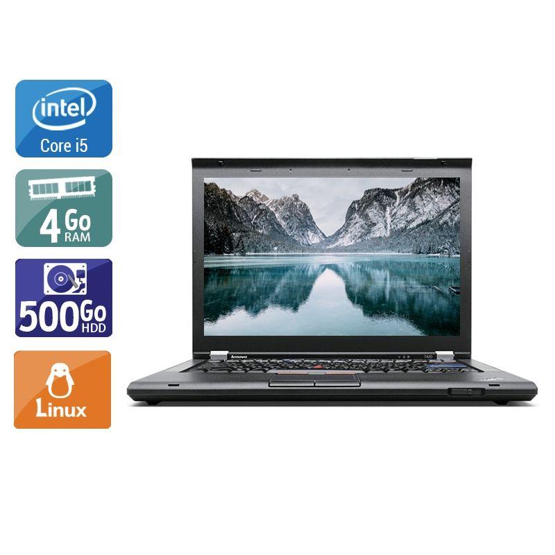 Lenovo ThinkPad T420 i5 4Go RAM 500Go HDD Linux