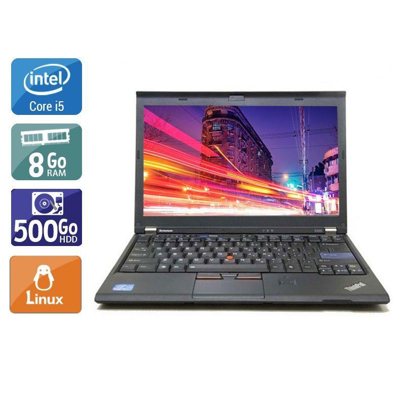 Lenovo ThinkPad X220 i5 8Go RAM 500Go HDD Linux