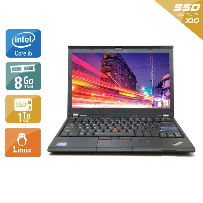 Lenovo ThinkPad X220 i5 8Go RAM 1To SSD Linux