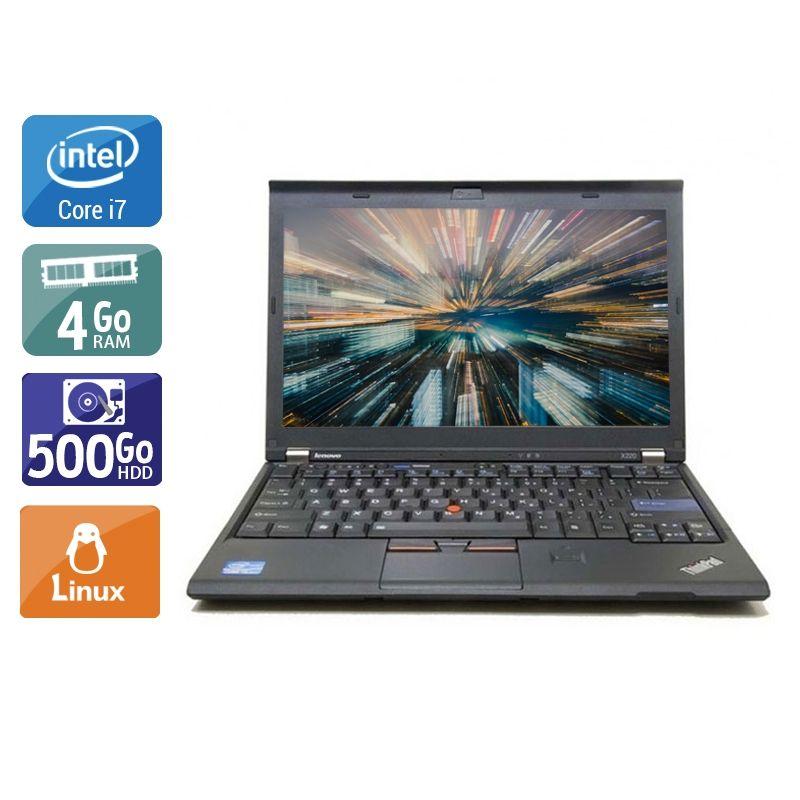 Lenovo ThinkPad X220 i7 4Go RAM 500Go HDD Linux