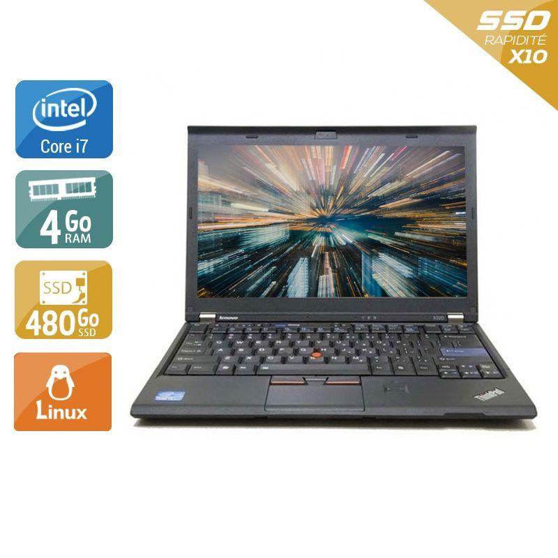 Lenovo ThinkPad X220 i7 4Go RAM 480Go SSD Linux