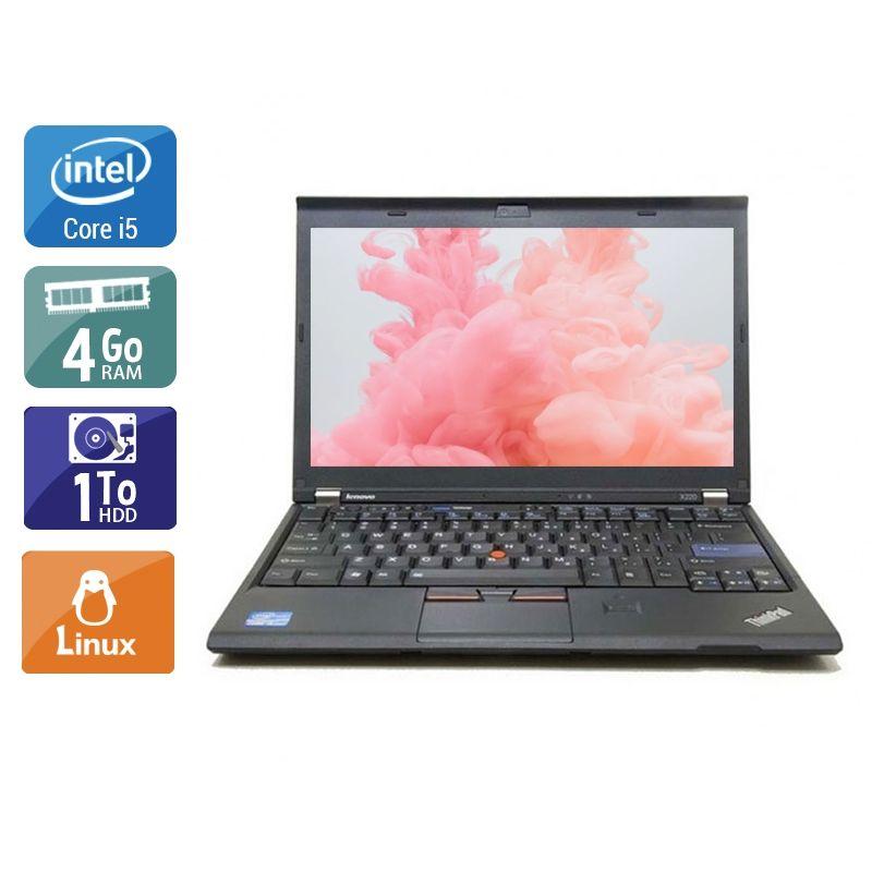 Lenovo ThinkPad X230 i5 4Go RAM 1To HDD Linux