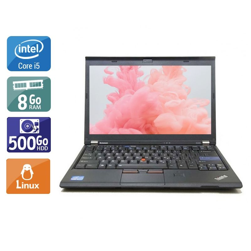 Lenovo ThinkPad X230 i5 8Go RAM 500Go HDD Linux