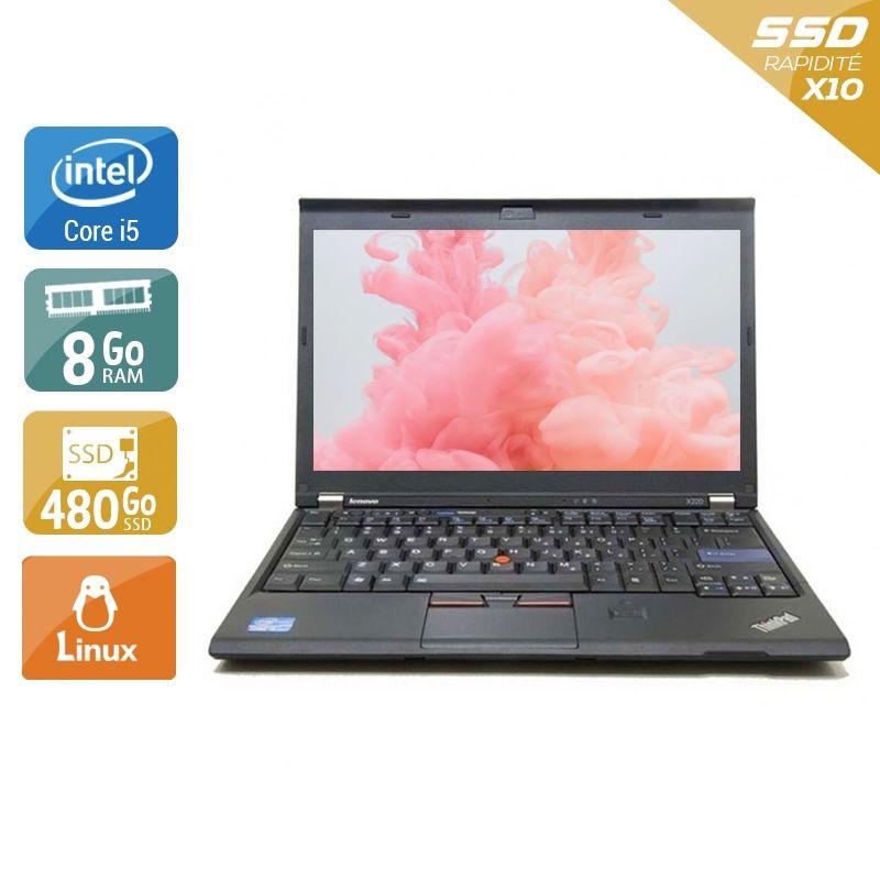 Lenovo ThinkPad X230 i5 8Go RAM 480Go SSD Linux