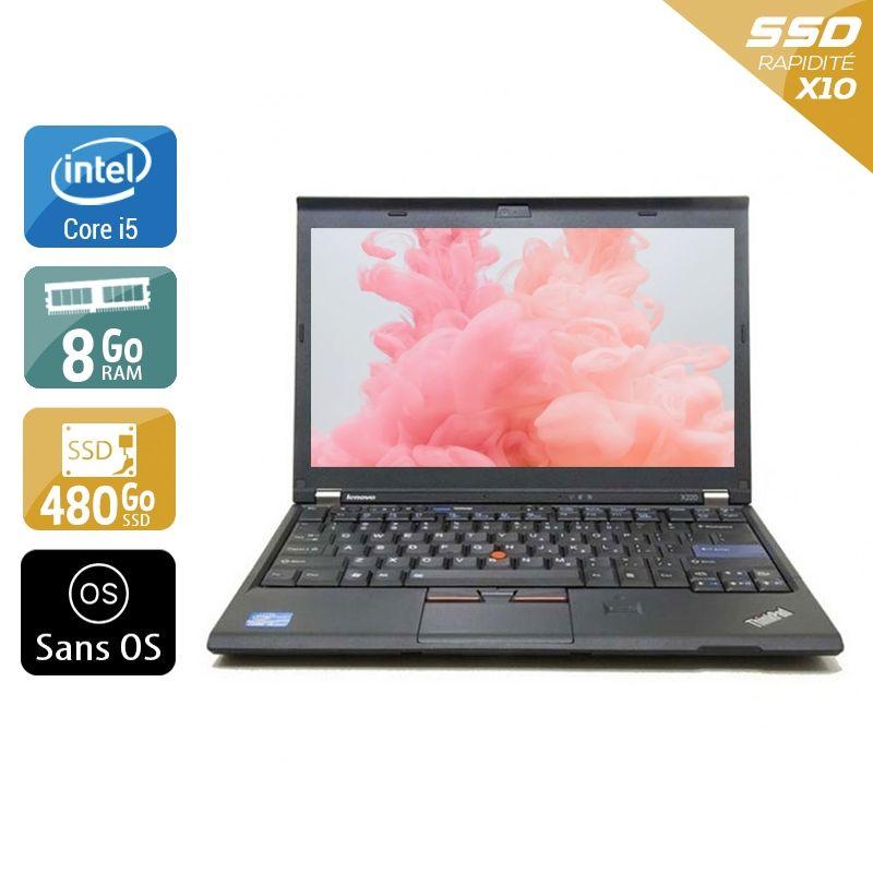 Lenovo ThinkPad X230 i5 8Go RAM 480Go SSD Sans OS