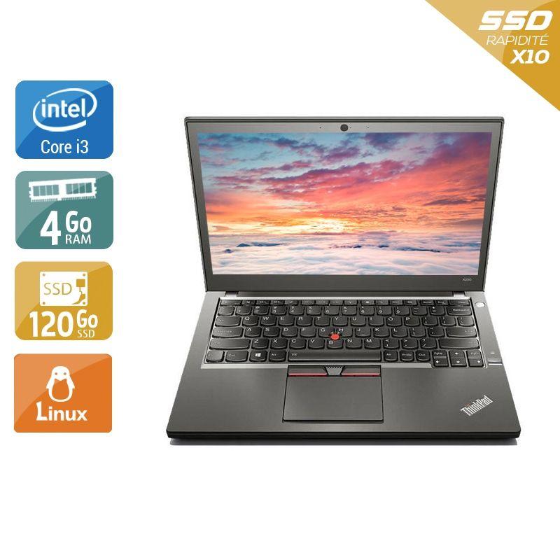 Lenovo ThinkPad X250 i3 4Go RAM 120Go SSD Linux