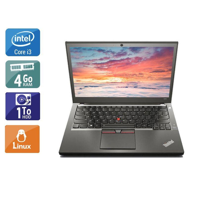 Lenovo ThinkPad X250 i3 4Go RAM 1To HDD Linux