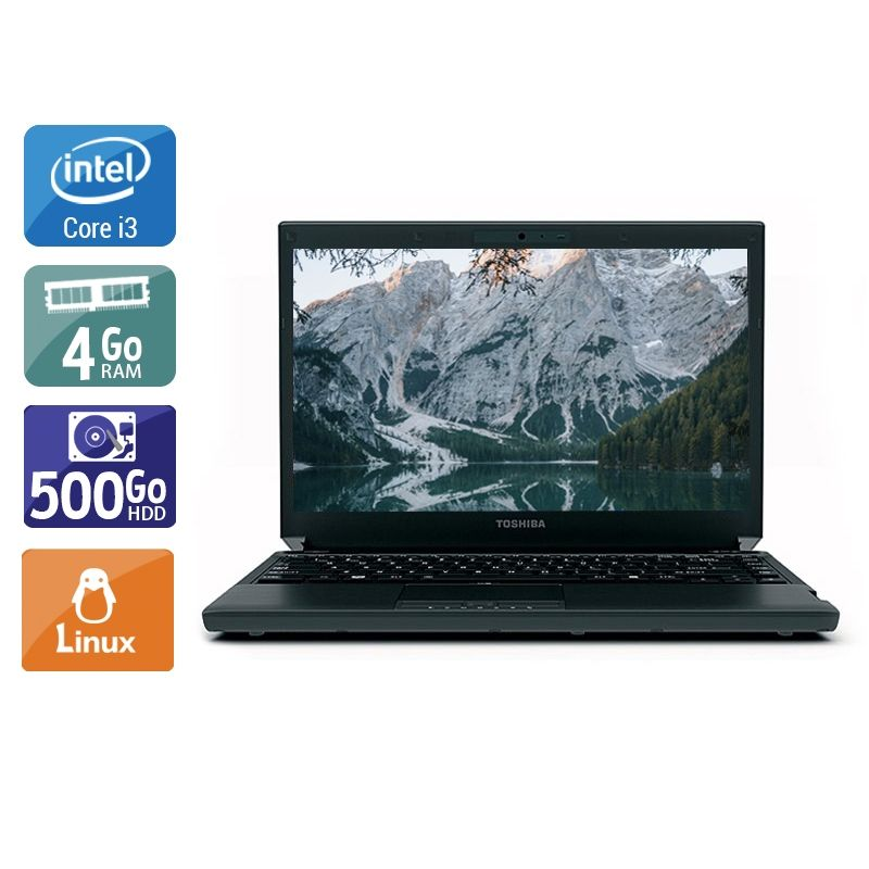 Toshiba Portégé R700 i3 4Go RAM 500Go HDD Linux