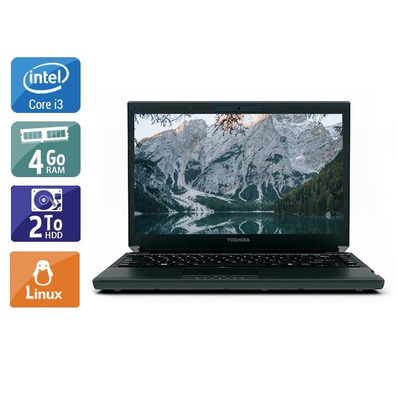 Toshiba Portégé R700 i3 4Go RAM 2To HDD Linux