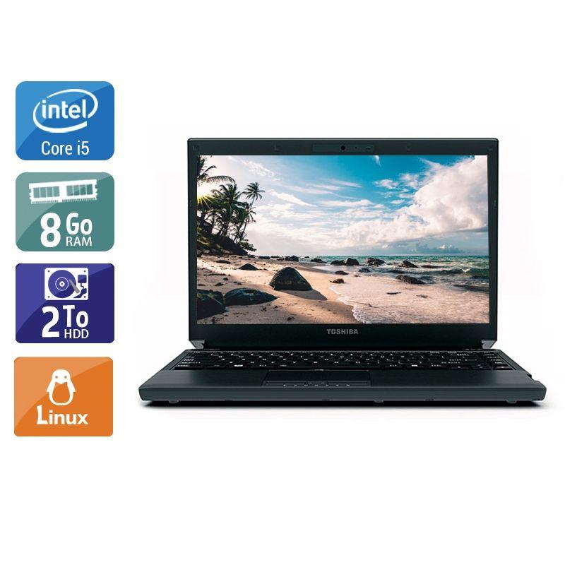 Toshiba Portégé R700 i5 8Go RAM 2To HDD Linux