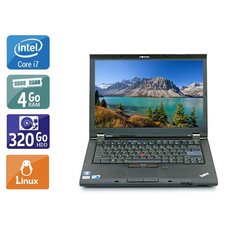 Lenovo ThinkPad T410 i7 4Go RAM 320Go HDD Linux