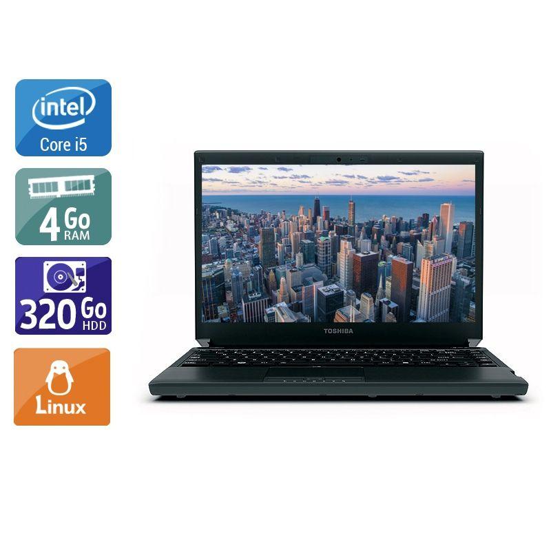 Toshiba Portégé R830 i5 4Go RAM 320Go HDD Linux
