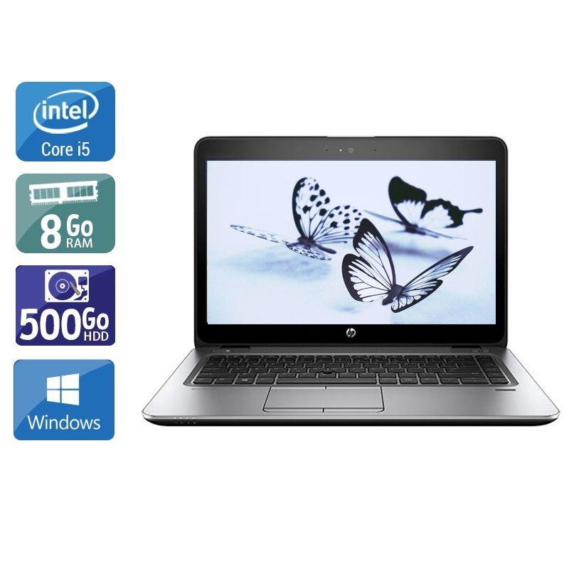 HP EliteBook 840 G3 i5 8Go RAM 500Go HDD Windows 10