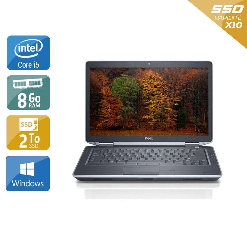 Dell Latitude E5430 i5 8Go RAM 2To SSD Windows 10