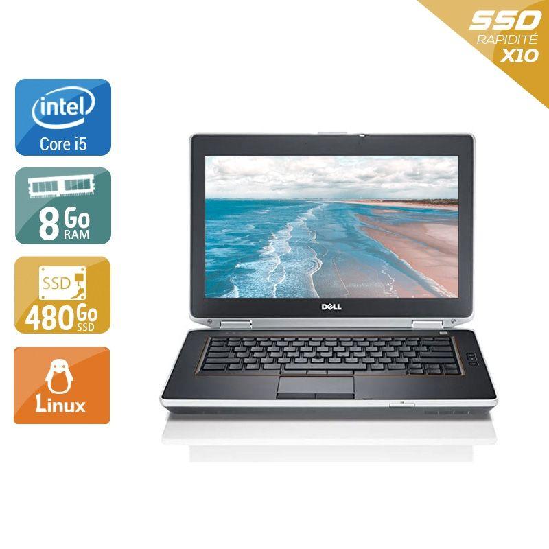 Dell Latitude E6420 i5 8Go RAM 480Go SSD Linux