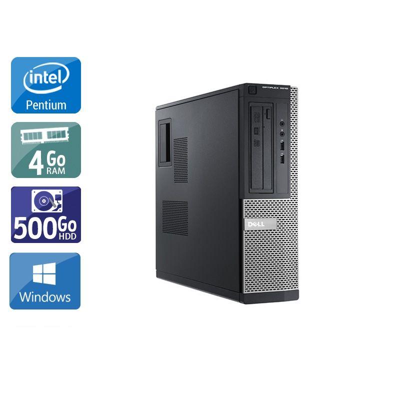 Dell Optiplex 3010 Desktop Pentium G Dual Core 4Go RAM 500Go HDD Windows 10