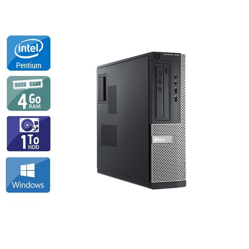 Dell Optiplex 3010 Desktop Pentium G Dual Core 4Go RAM 1To HDD Windows 10