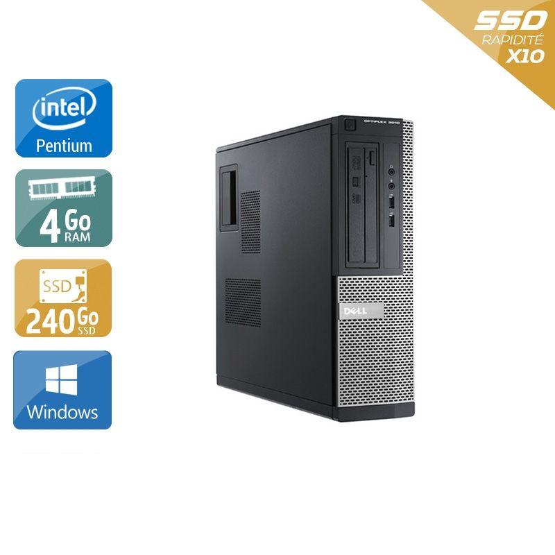 Dell Optiplex 3010 Desktop Pentium G Dual Core 4Go RAM 240Go SSD Windows 10