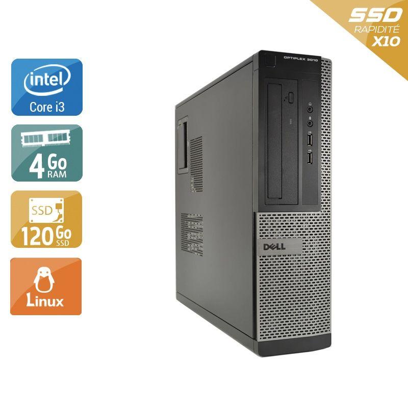 Dell Optiplex 3010 Desktop i3 4Go RAM 120Go SSD Linux
