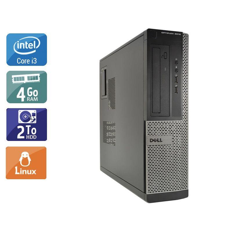Dell Optiplex 3010 Desktop i3 4Go RAM 2To HDD Linux