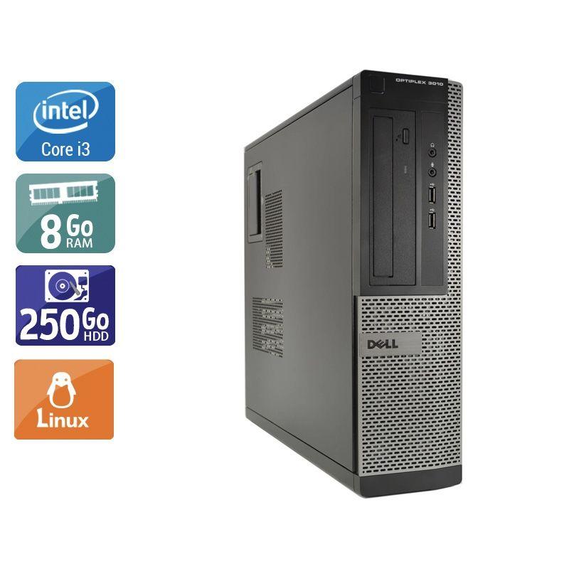 Dell Optiplex 3010 Desktop i3 8Go RAM 250Go HDD Linux