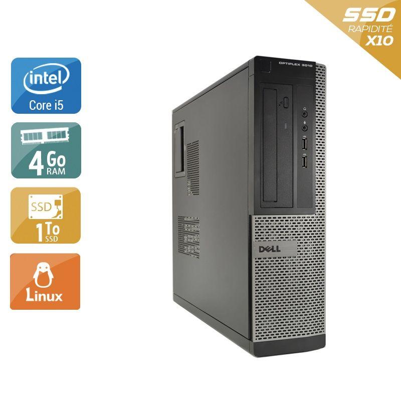 Dell Optiplex 3010 Desktop i5 4Go RAM 2To SSD Linux