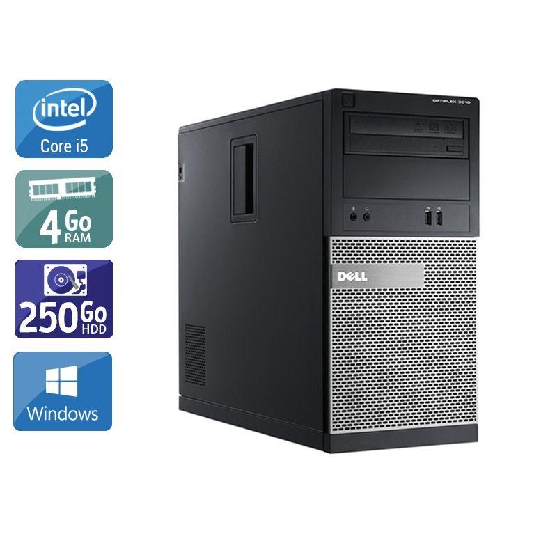 Dell Optiplex 3010 Tower i5 4Go RAM 250Go HDD Windows 10