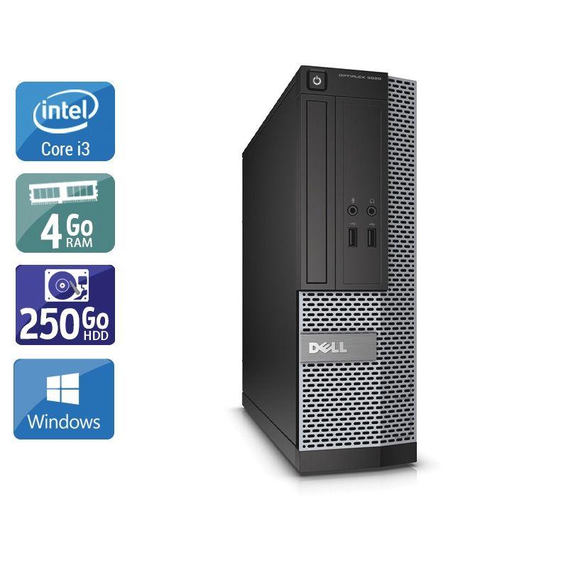 Dell Optiplex 3010 SFF i3 4Go RAM 250Go HDD Windows 10