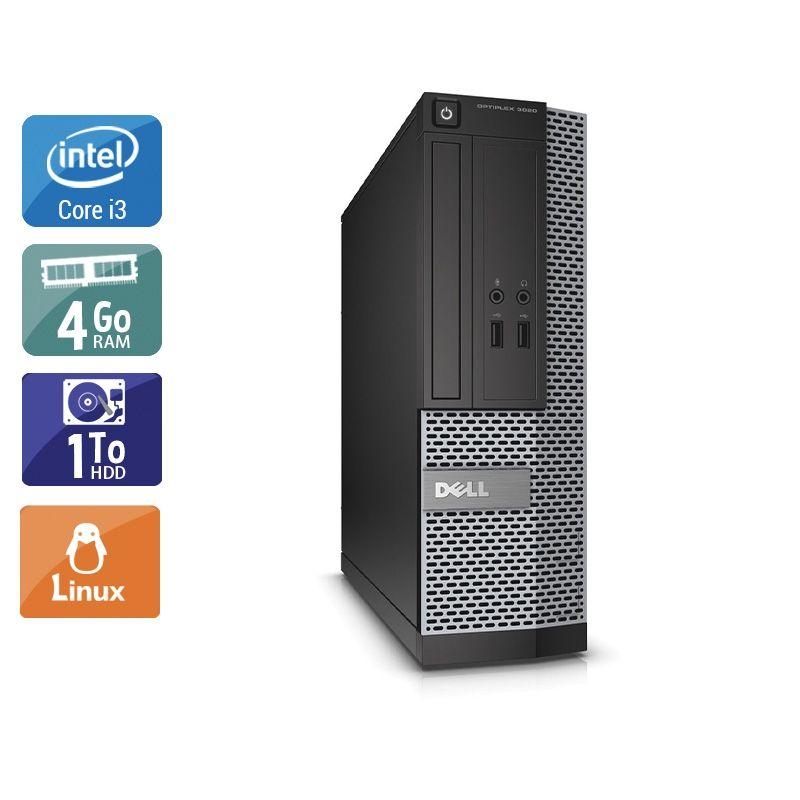 Dell Optiplex 3010 SFF i3 4Go RAM 1To HDD Linux