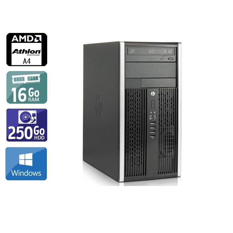 HP Compaq Pro 6305 Tower AMD A4 16Go RAM 250Go HDD Windows 10