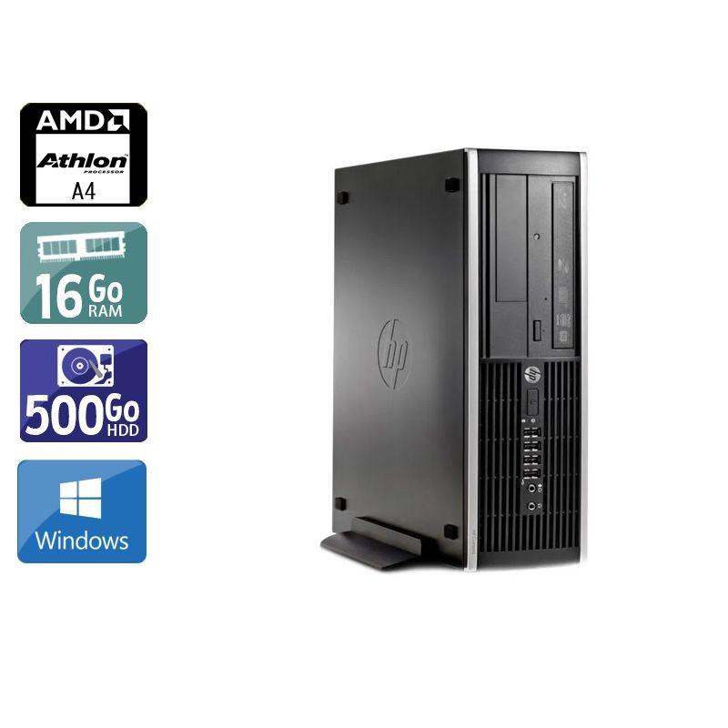 HP Compaq Pro 6305 SFF AMD A4 16Go RAM 500Go HDD Windows 10