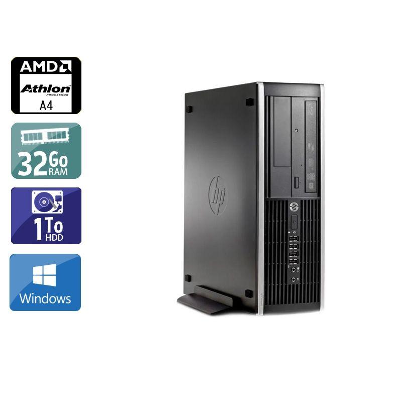 HP Compaq Pro 6305 SFF AMD A4 32Go RAM 1To HDD Windows 10