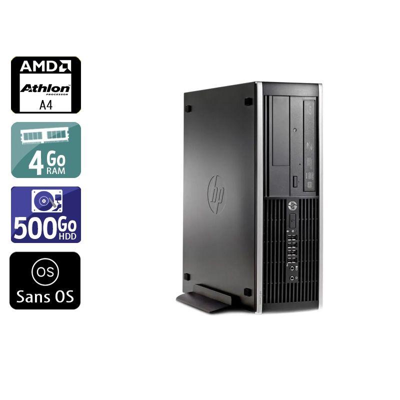 HP Compaq Pro 6305 SFF AMD A4 4Go RAM 500Go HDD Sans OS