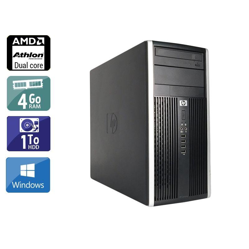 HP Compaq Pro 6005 Tower AMD Athlon Dual Core 4Go RAM 1To HDD Windows 10