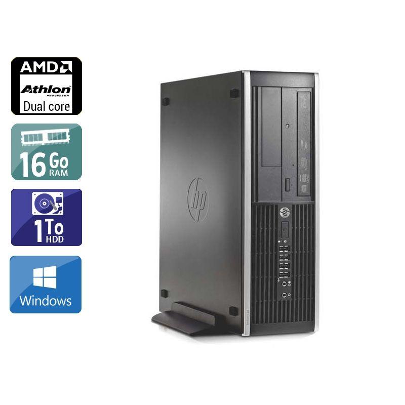 HP Compaq Pro 6005 SFF AMD Athlon Dual Core 16Go RAM 1To HDD Windows 10