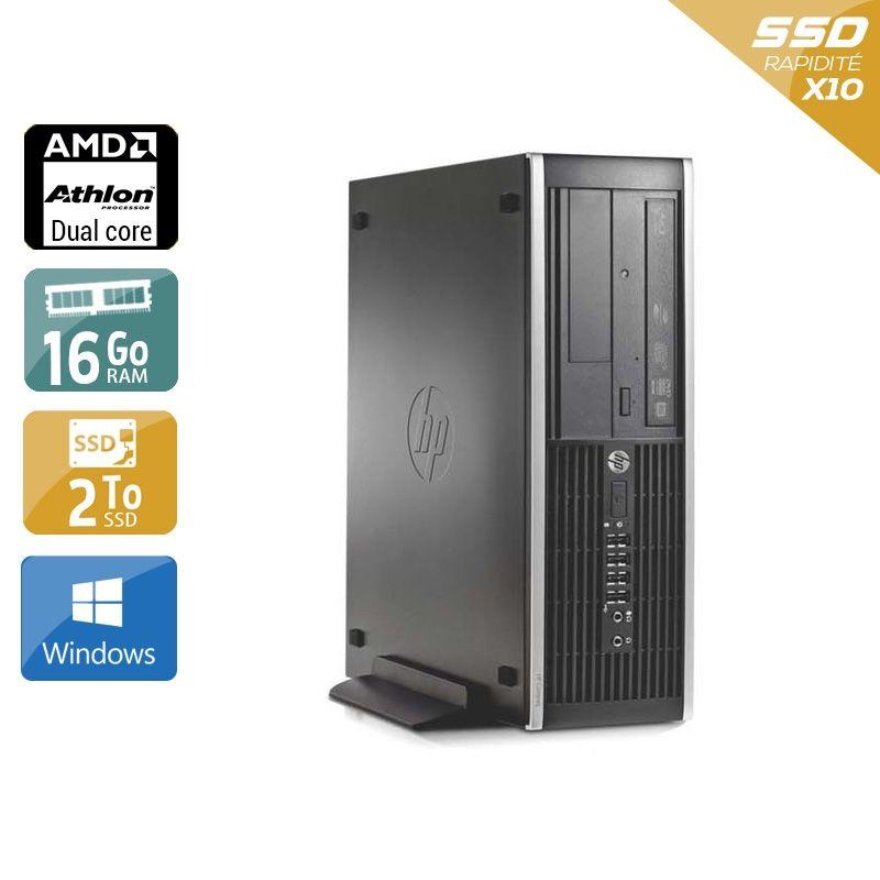 HP Compaq Pro 6005 SFF AMD Athlon Dual Core 16Go RAM 2To SSD Windows 10