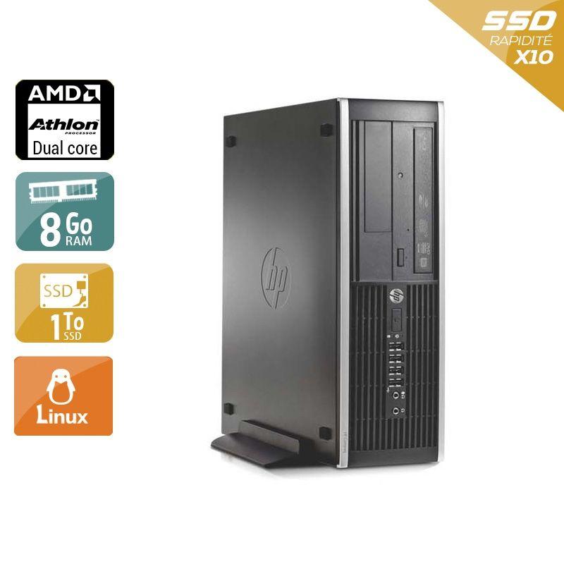 HP Compaq Pro 6005 SFF AMD Athlon Dual Core 8Go RAM 2To SSD Linux