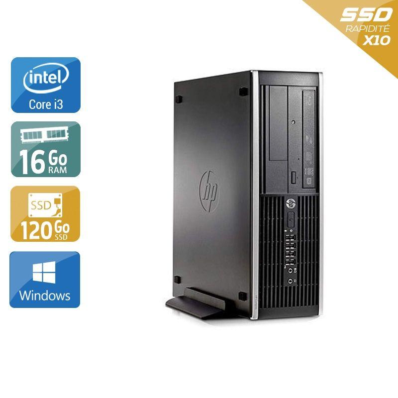 HP Compaq Pro 6200 SFF i3 16Go RAM 120Go SSD Windows 10
