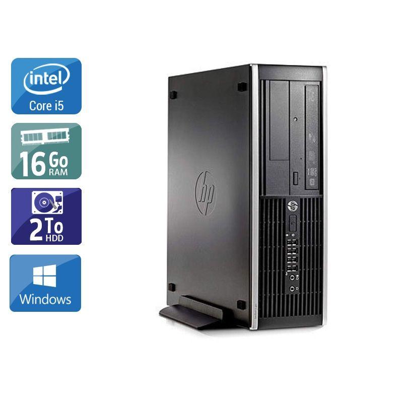HP Compaq Pro 6200 SFF i5 16Go RAM 2To HDD Windows 10