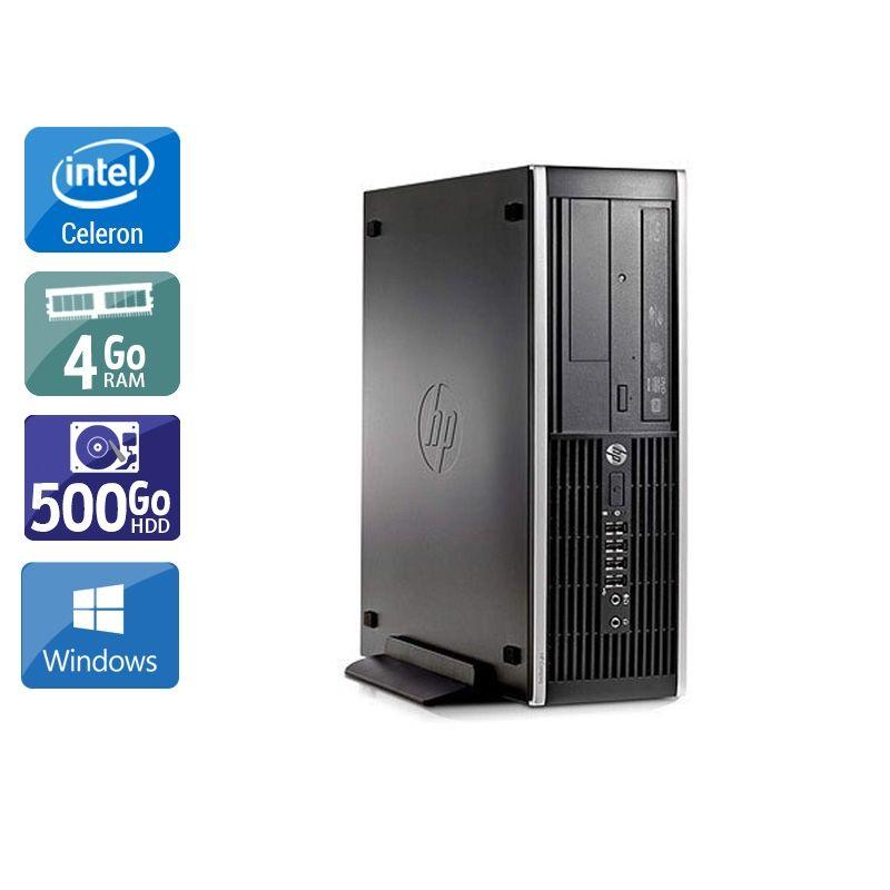 HP Compaq Pro 6300 SFF Celeron Dual Core 4Go RAM 500Go HDD Windows 10