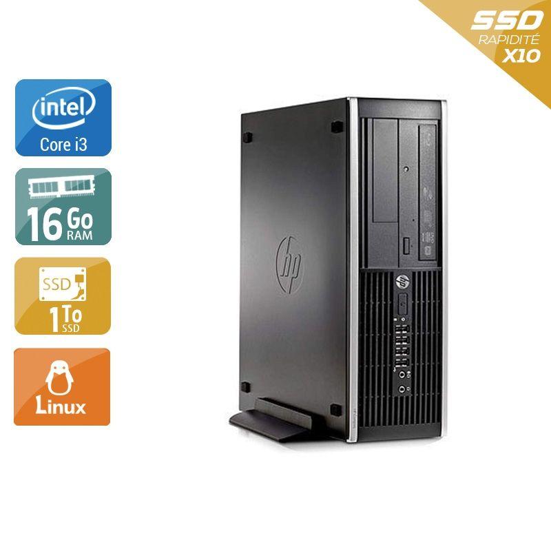 HP Compaq Pro 6300 SFF i3 16Go RAM 2To SSD Linux