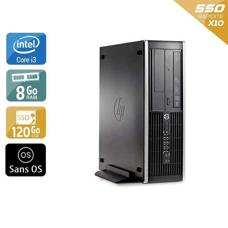 HP Compaq Pro 6300 SFF i3 8Go RAM 120Go SSD Sans OS