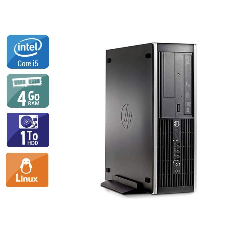 HP Compaq Pro 6300 SFF i5 4Go RAM 1To HDD Linux