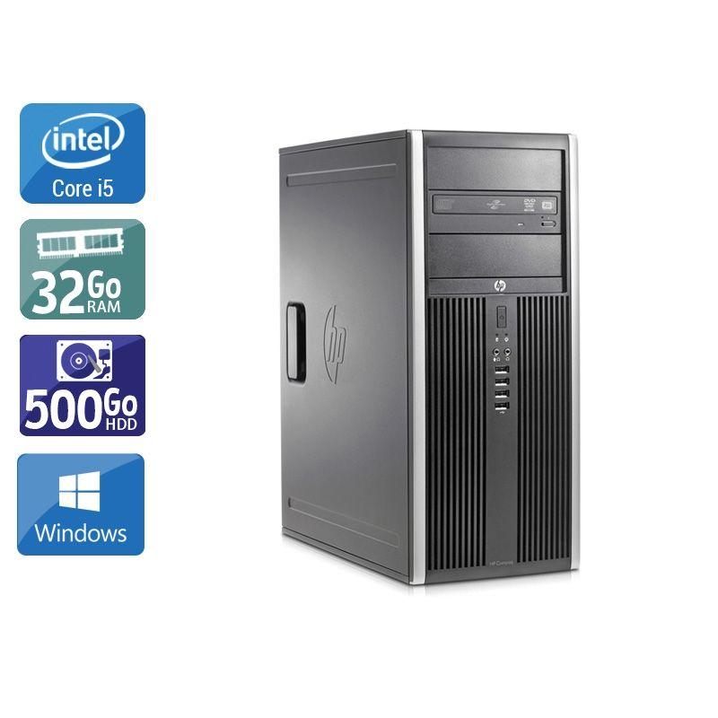 HP Compaq Elite 8200 Tower i5 32Go RAM 500Go HDD Windows 10