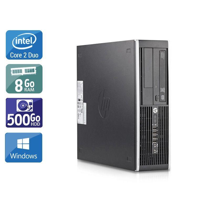 HP Compaq Elite 8200 SFF Core 2 Duo 8Go RAM 250Go HDD Windows 10