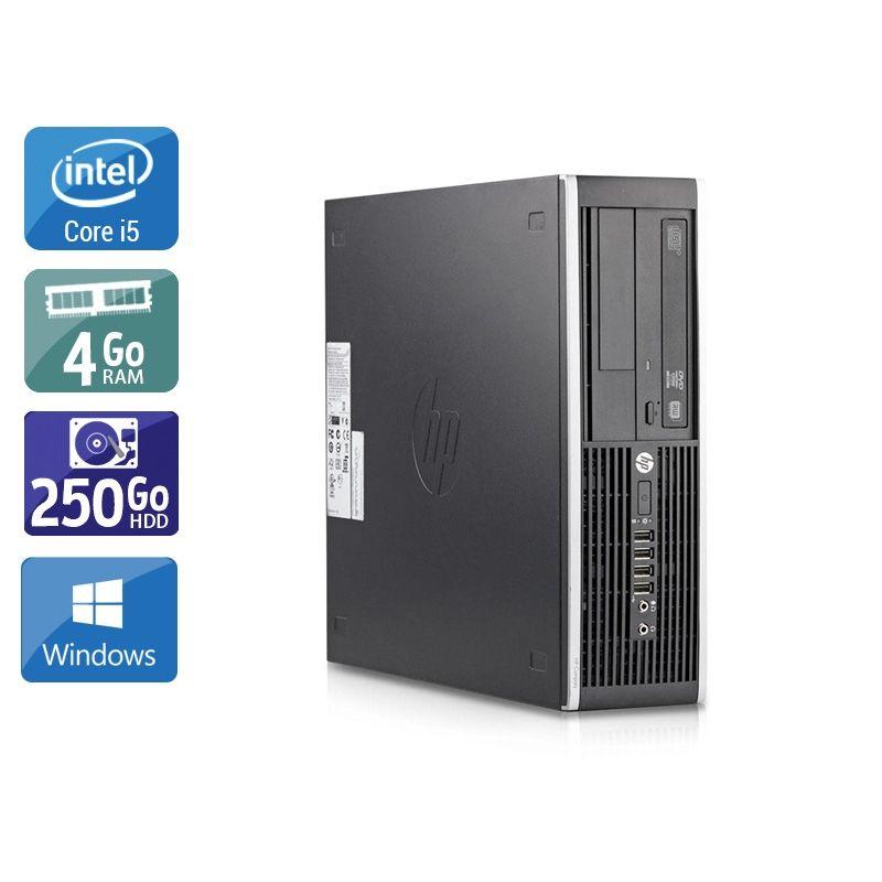 HP Compaq Elite 8200 SFF i5 4Go RAM 250Go HDD Windows 10