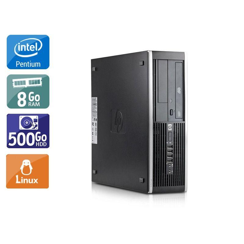 HP Compaq Elite 8300 SFF Pentium G Dual Core 8Go RAM 250Go HDD Linux